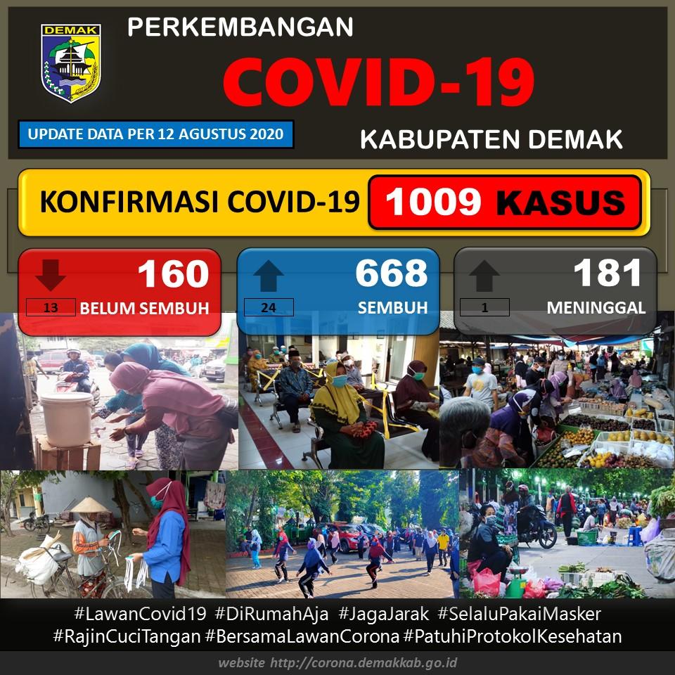 Data Pantauan Covid-19 Kabupaten Demak