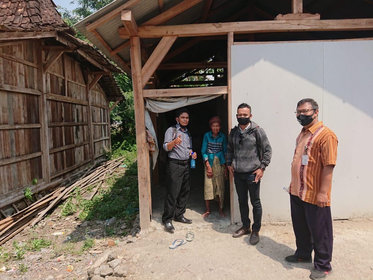 Kegiatan Survey Lapangan, Bantuan RTLH Tahun 2020 di Desa Wonosekar